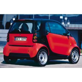 Heckklappe Rot  Smart MCC City Coupe 0.8 CDi