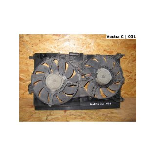 | Valeo Doppellüfter *AS1* | 9202804 | Opel [031] Vectra C 2.2 direct Klima