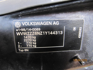 | 6N1857507G01C Außenspiegel links manuell LC9Z black-magic | VW [313] Polo 6N2