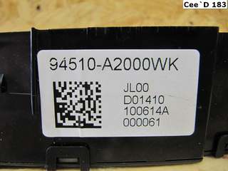 | Digital-Uhr Display | 94510A2000WK | Kia [183] Ceed JD ab 2012