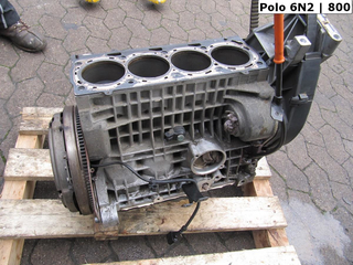 | Motorblock AKK AKP AUD | 030103101BE | VW [800] Polo 6N2 1.4 MPi 44kw 2000